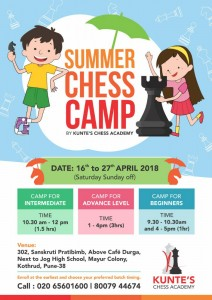 Summer Chess Camp - MayurColony